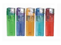 DNEC Your Information Printed On Assorted Clear Color Electronic Refillable Lighters (350PC) WDR