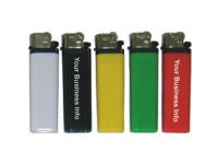 DNIS Your Information Printed On 1 Or Assorted Solid Color Disposable Lighters (350PC)