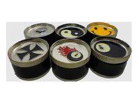 GR3NovBk Novelty Grinder, 3 Parts Assorted Designs (12PC)