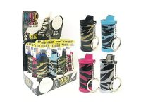 LC-TSLED Stripe Lighter Case W/ LED Light; (12PC)*