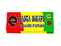 RASTA1.5 1 1/2 Size Rolling Papers 50 Sheets / Book (50PC)