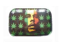 ROLLTRAYLG1 Large Metal Rolling Tray 8 Mixed Design (12PC)