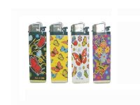 WBUTTERFLY Butterfly Designs Wrapped Disposable Lighter (50PC)