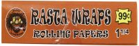 RASTA1.25 1 1/4 Size Rolling Papers 50 Sheets / Book (50PC)