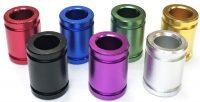 BUTT105C. Colorful Aluminum Snuffer (24PC)