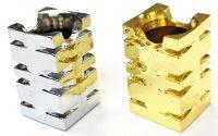 BUTT107. Square Design Metal Snuffer (24PC)