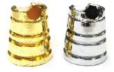 BUTT110. Cone Design Metal Snuffer (24PC)