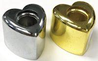 BUTT15H. Heart Design Metal Snuffer (24PC)