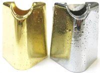 BUTT17. Fancy Gold & Silver Metal Snuffer (24PC)