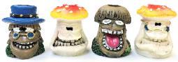 BUTT21. Mushroom Head Design Resin Snuffer (24PC)