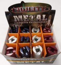 BUTTM. Cone Design Metal Snuffer (24PC)