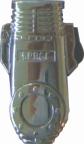 1289-1 Space Design Tri-Torch Lighter  (24PC)