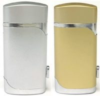 1726-1 Double Torch Lighter W/ Cigar Puncher (20PC)