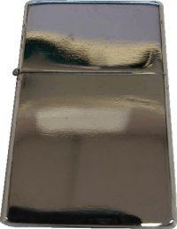 Silver Thin Oil Lighter, Oil2, 12pcs/Tray, $1.25/Pc